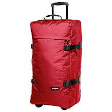 Buy Eastpak Transfer 2-Wheel Large Suitcase, Chuppachop Red Online at johnlewis.com