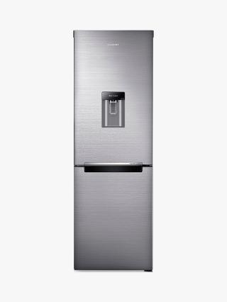 Buy Samsung RB29FWRNDSS Fridge Freezer, Brushed Steel Online at johnlewis.com