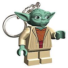 Buy LEGO Star Wars Keyring with Light, Yoda Online at johnlewis.com