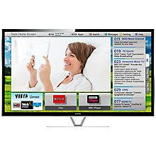 """Buy Panasonic Viera TX-P55VT65B Plasma HD 1080p 3D Smart TV, 55"""", Freeview/Freesat HD and Voice Recognition with 2x 3D Glasses Online at johnlewis.com"""