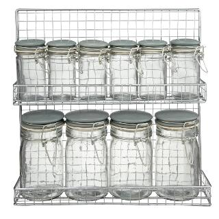 Buy Garden Trading Spice Rack and Jars Online at johnlewis.com