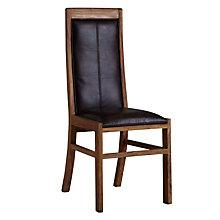 Buy John Lewis Samara Leather Dining Chair Online at johnlewis.com