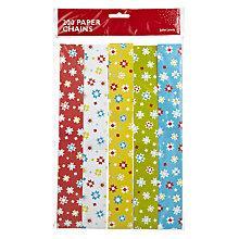 Buy John Lewis Woodland Star Paper Chain Set, Multi Online at johnlewis.com