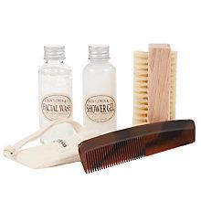 Buy JOHN LEWIS & Co. Bathroom Set with Wash Bag Online at johnlewis.com