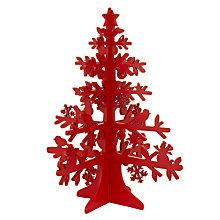 Buy House by John Lewis Laser Cut Woodland Tree, Red Online at johnlewis.com