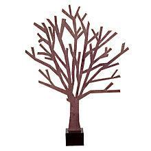 Buy Design Ideas Black Sherwood Tree, Small Online at johnlewis.com