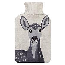 Buy Aroma Home Deer Hot Water Bottle, White Online at johnlewis.com