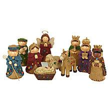 Buy John Lewis Rural Nativity Characters Online at johnlewis.com