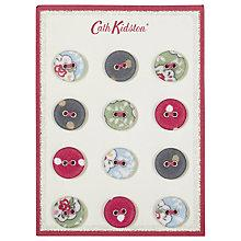 Buy Cath Kidston Covered Buttons, Pack of 12, Multi Online at johnlewis.com