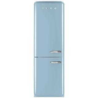 Buy Smeg FAB32LF Fridge Freezer, A++ Energy Rating, 60cm Wide, Left-Hand Hinge Online at johnlewis.com