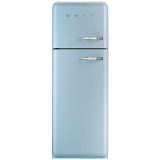 Buy Smeg FAB30LF Fridge Freezer, A++ Energy Rating, Left-Hand Hinge, 60cm Wide Online at johnlewis.com