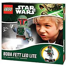 Buy LEGO Star Wars Boba Fett Light Set Online at johnlewis.com