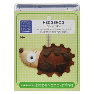 Buy Sew Your Own Decoration Kit, Hedgehog Online at johnlewis.com