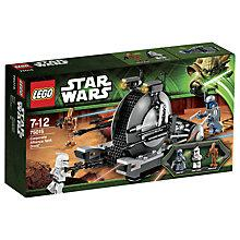 Buy LEGO Star Wars Corporate Alliance Tank Droid Online at johnlewis.com