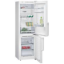 Buy Siemens KG36NVW32G Fridge Freezer, A++ Energy Rating, 60cm Wide, White Online at johnlewis.com