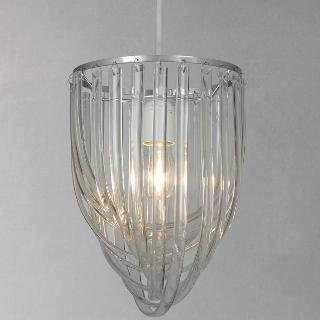 Buy John Lewis Easy-to-fit Orlando Glass Loops Shade Online at johnlewis.com