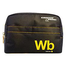 Buy Scaramouche & Fandango Men's Wash Bag, Black Online at johnlewis.com