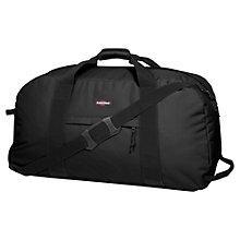 Buy Eastpak Warehouse 2-Wheel Travel Bag, Black Online at johnlewis.com