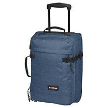 Buy Eastpak Transfer Extra Small 2-Wheel Travel Bag, Denim Online at johnlewis.com
