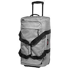 Buy Eastpak Spins Medium 2-Wheel Holdall, Sunday Grey Online at johnlewis.com