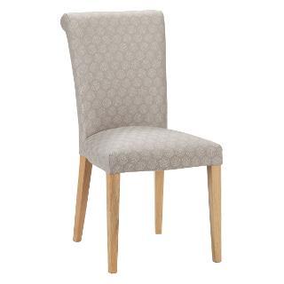 Buy John Lewis Evelyn Chair, Dandy Grey/Oak Online at johnlewis.com