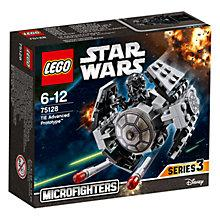 Buy LEGO Star Wars V-Wing Starfighter Online at johnlewis.com