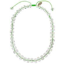 Buy Lola Rose Bryson Rock Crystal Neon Cord Necklace Online at johnlewis.com