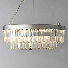 Buy John Lewis Elise LED Crystal Pendant Online at johnlewis.com