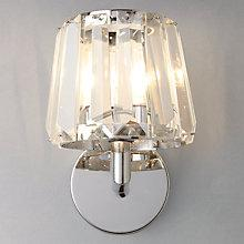Buy John Lewis Charm Crystal Bathroom Wall Light Online at johnlewis.com