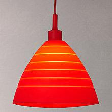 Buy House by John Lewis Ziggy Silicon Foldable Pendant Online at johnlewis.com