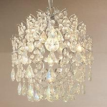 Buy John Lewis Baroque Lustre Ceiling Pendant, Small Online at johnlewis.com