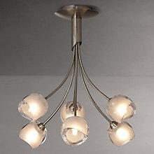 Buy John Lewis Lila Tulip Multi-arm Ceiling Light, 6 Light Online at johnlewis.com