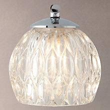 Buy John Lewis Toledo 1 Light Crystal Bathroom Wall Light Online at johnlewis.com