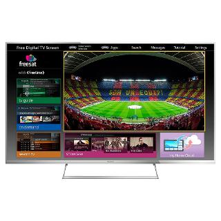 "Buy Panasonic Viera TX-55AS740 LED HD 1080p 3D Smart TV, 55"", Freeview HD, Freesat HD with freetime Online at johnlewis.com"