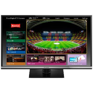 """Buy Panasonic Viera TX-32AS600B LED HD 1080p Smart TV, 32"""", Freeview HD with freetime Online at johnlewis.com"""