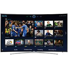 "Buy Samsung UE48H8000 Curved LED HD 1080p 3D Smart TV, 48"" with Freesat/Freeview HD & 2x 3D Glasses Online at johnlewis.com"