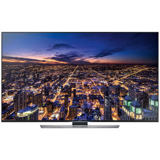 """Buy Samsung UE55HU7500 4K Ultra HD 3D Smart TV, 55"""" with Freeview/Freesat HD and 2x 3D Glasses Online at johnlewis.com"""