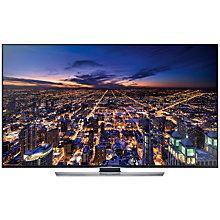 "Buy Samsung UE55HU7500 4K Ultra HD 3D Smart TV, 55"" with Freeview/Freesat HD and 2x 3D Glasses Online at johnlewis.com"