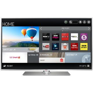"""Buy LG 47LB580V LED HD 1080p Smart TV, 47"""" with Freeview HD Online at johnlewis.com"""