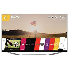"Buy LG 55LB730V LED HD 1080p 3D Smart TV, 55"" with Freeview HD and 2x 3D Glasses Online at johnlewis.com"