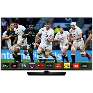 """Buy Samsung UE32H5500 LED HD 1080p Smart TV, 32"""" with Freeview HD Online at johnlewis.com"""