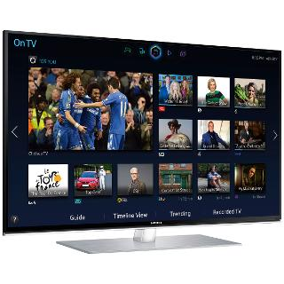 """Buy Samsung UE40H6700 LED HD 1080p 3D Smart TV, 40"""" with Freeview/Freesat HD, Voice Control and 2x 3D Glasses Online at johnlewis.com"""