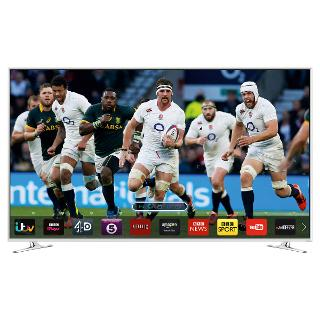 """Buy Samsung UE32H6410 LED HD 1080p 3D Smart TV, 32"""" with Freeview/Freesat HD Online at johnlewis.com"""