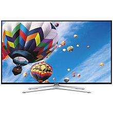 "Buy Samsung UE50H6400 LED HD 1080p 3D Smart TV, 50"" with Freeview HD, Voice Control and 2x 3D Glasses Online at johnlewis.com"
