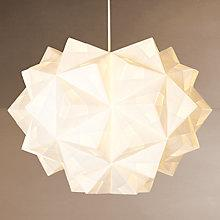 Buy Foldability Chloe Ceiling Pendant, White Online at johnlewis.com