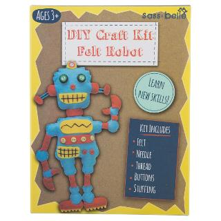 Buy DIY Felt Robot Craft Kit, Multi Online at johnlewis.com