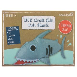 Buy DIY Felt Shark Craft Kit, Grey Online at johnlewis.com