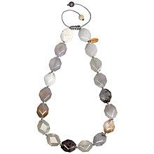 Buy Lola Rose Abbie Multi White Agate Necklace, White Online at johnlewis.com