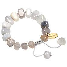 Buy Lola Rose Fern Multi White Agate Bracelet, White Online at johnlewis.com