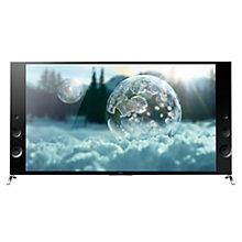 "Buy Sony Bravia KD55X9005 LED 4K Ultra HD 3D Smart Wedge TV, 55"", NFC with Freeview HD Online at johnlewis.com"